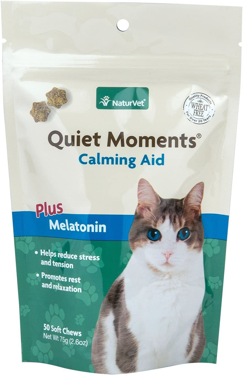 Amazon.com: naturvet 50 Count Quiet moments Calming gato ...