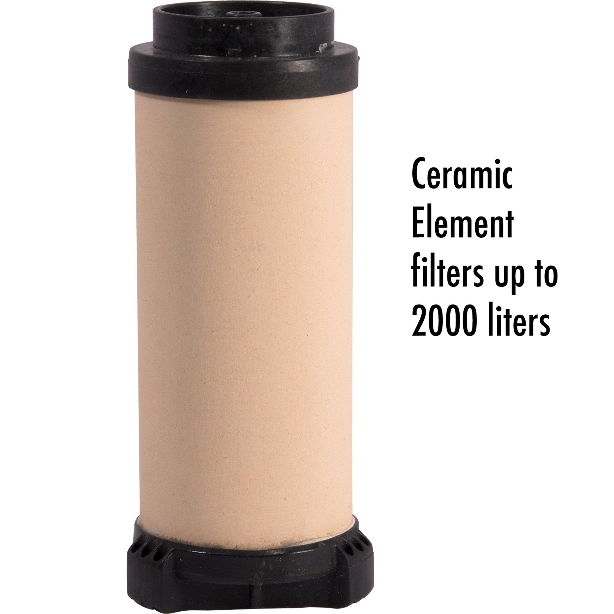 MSR MiniWorks Ceramic Water Filter Replacement Element