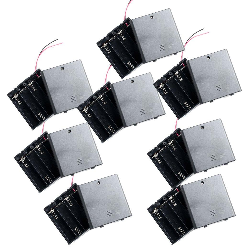 Wiring 4 Aa Batteries In Series