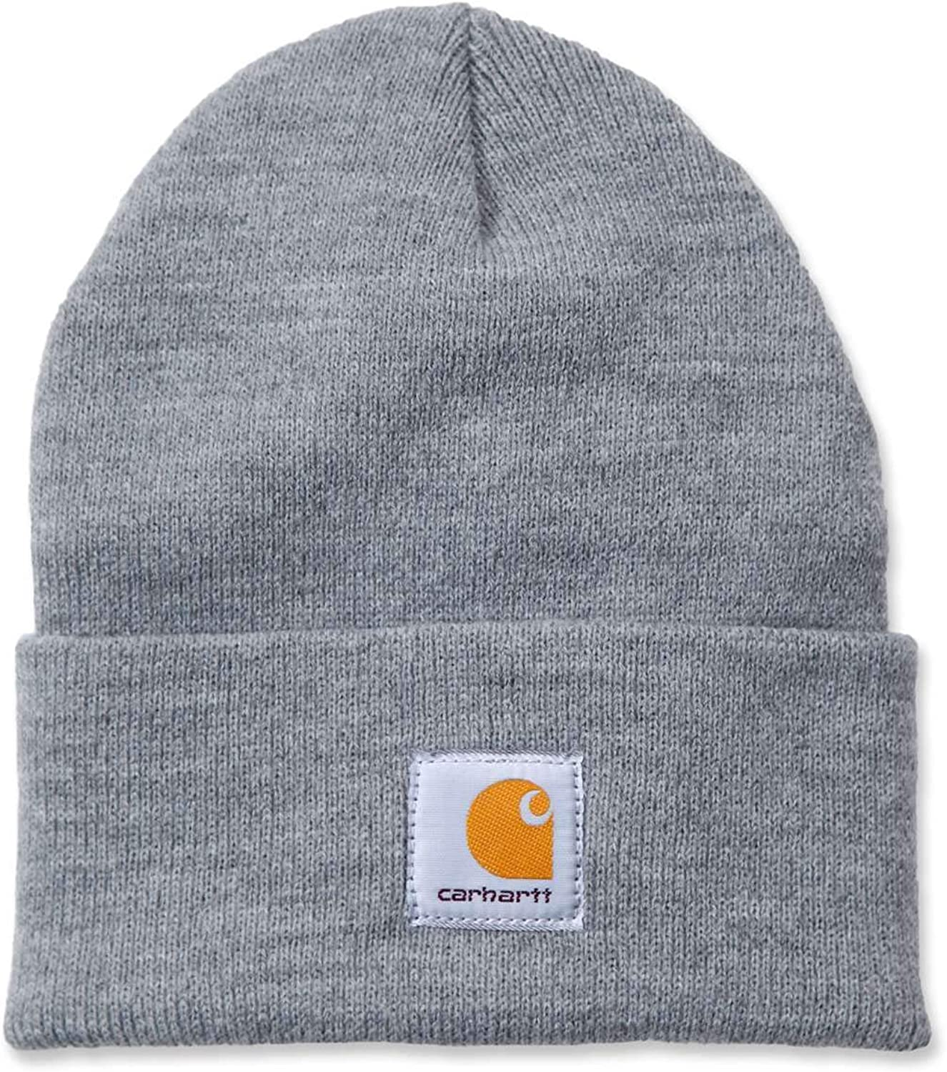 Carhartt Unisex Beanie Acrylic Watch Hat Grau Heather Grey One ...