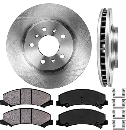 2006 2007 2008 2009 Chevy Impala OE Replacement Rotors Ceramic Pads F