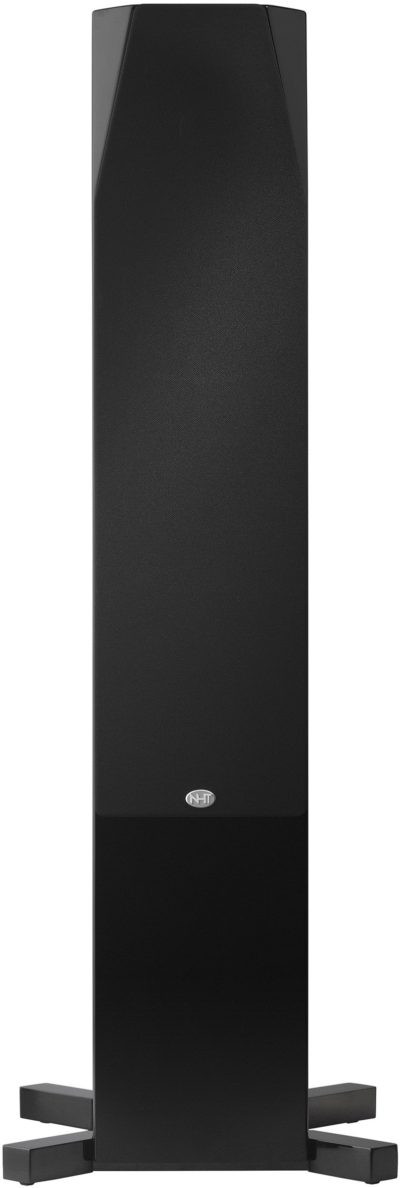 NHT C Series C-4 Floor-Standing 4-Way Tower Speaker (Single) - High Gloss Black by NHT Audio