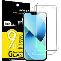 """NEW'C 3 pack, Skärmskydd Med iPhone 13 Mini (5,4"""") – Härdat Glas HD klar 9H hårdhet bubbelfritt"""
