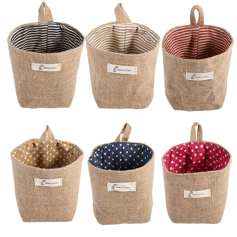 1Pc Hanging Storage Pouch Basket Container Reusable Grocery Bags Hanging Organizer Vegetable Bag Space Saving Laundry Hamper Bag Over the Door Hanger Bag BaoST