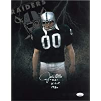 $81 » Jim Otto Autographed Signed 11x14 Photo Autographed JSA Itp COA Oakland Raiders HOF 1980
