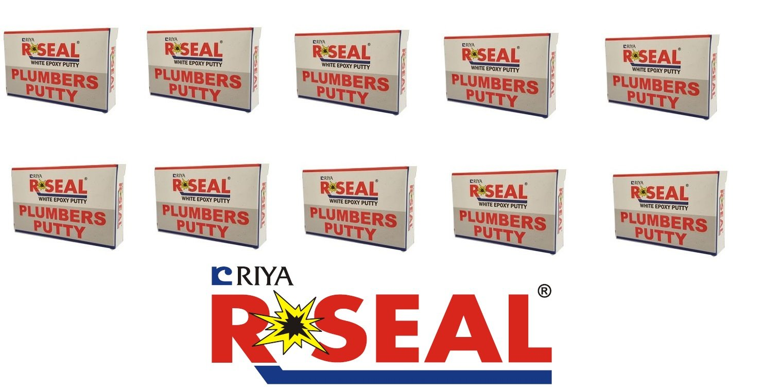 R Seal Plumbers Putty White Epoxy (50 g) Pack of 20