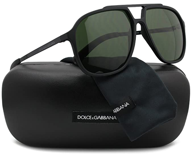 955cb2b6008 Image Unavailable. Image not available for. Colour  Dolce   Gabbana DG6088 Men  Aviator Sunglasses ...