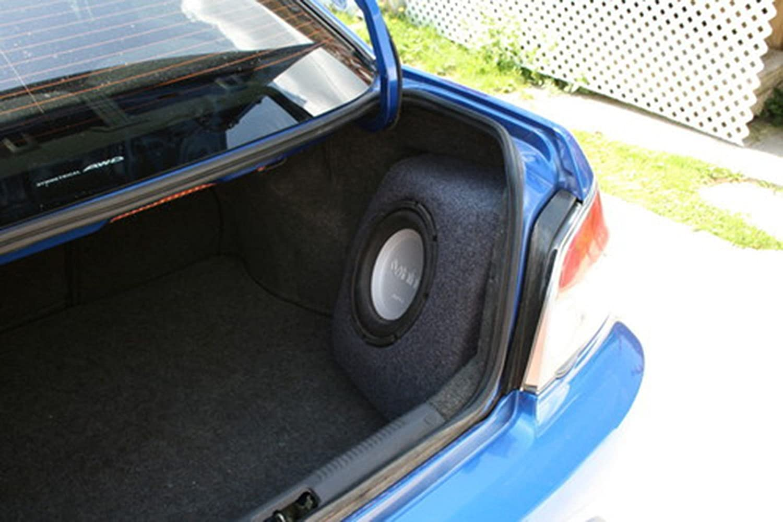 TrunkLiner Carpet Car Boat Custom Speaker Box Charcoal Subwoofer 3 Foot x 48 W