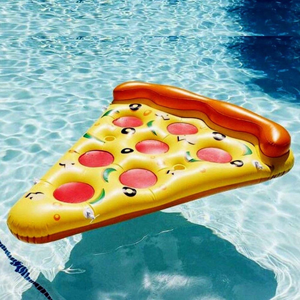 Pizza inflable Juguete de Piscina y Playa Inflable Flotador de ...