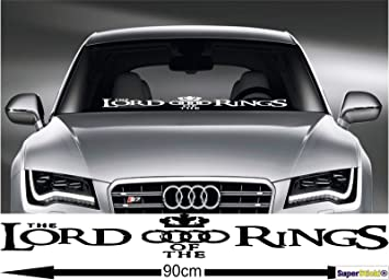Lord Of The Rings Herr Der Ringe Auto Aufkleber Audi Aufkleber