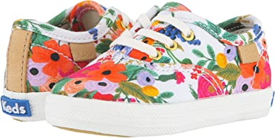 a4066f683 Keds Kids Baby Girl s Rifle Paper Champion Seasonal Crib (Infant Toddler)  Garden Party
