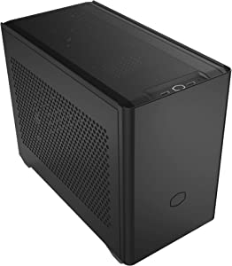 Cooler Master NR200 SFF Small Form Factor Mini-ITX Case with Vented Panel, Triple-Slot GPU, Tool-Free and 360 Degree Accessibility