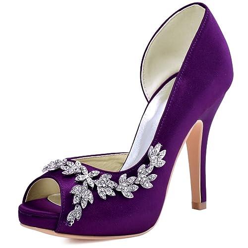 Elegantpark Hp1560iac Women S Peep Toe Platform High Heel