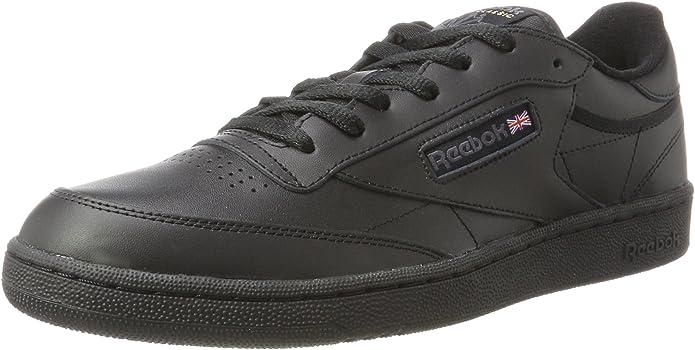 Reebok Club C 85 Sneakers Fitnessschuhe Herren komplett Schwarz