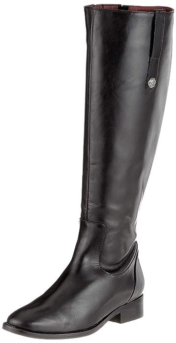 4ee871fe65d6 Buffalo Damen Arrowwood Alpha Leather Hohe Stiefel, Schwarz (Black 01 00),  36