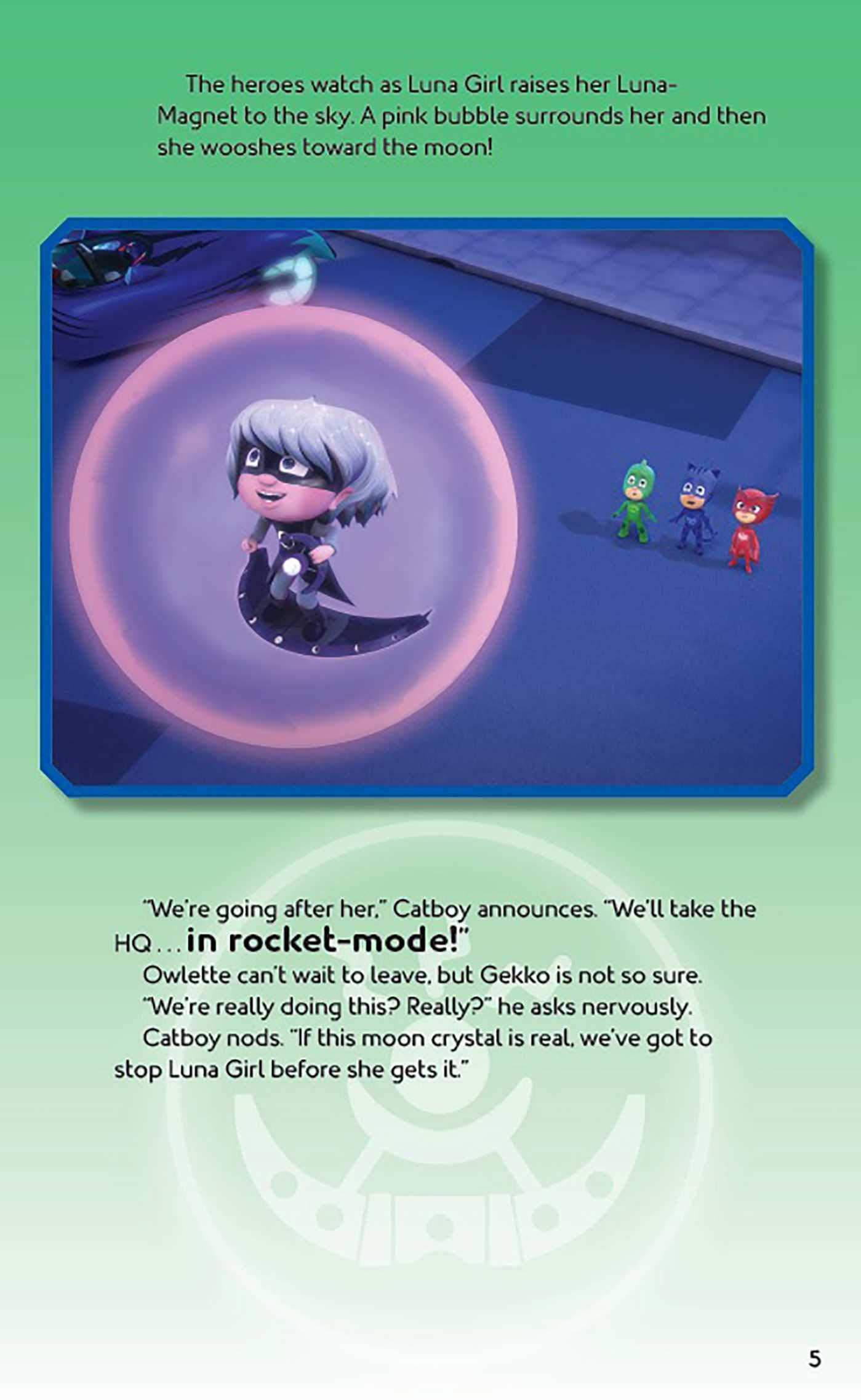 Pj Masks: Super Moon Mission Movie Theater & Storybook : Pj ...