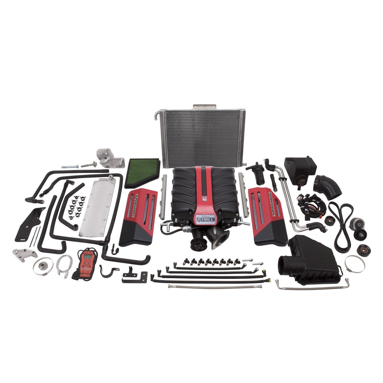Edelbrock EDL1598 E-Force Street Legal Supercharger Kit for Camaro SS (Manual)