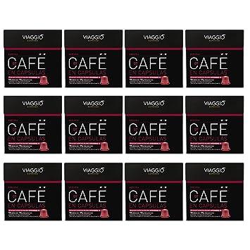 VIAGGIO ESPRESSO - 120 capsules de café compatibles avec Nespresso - VERONA