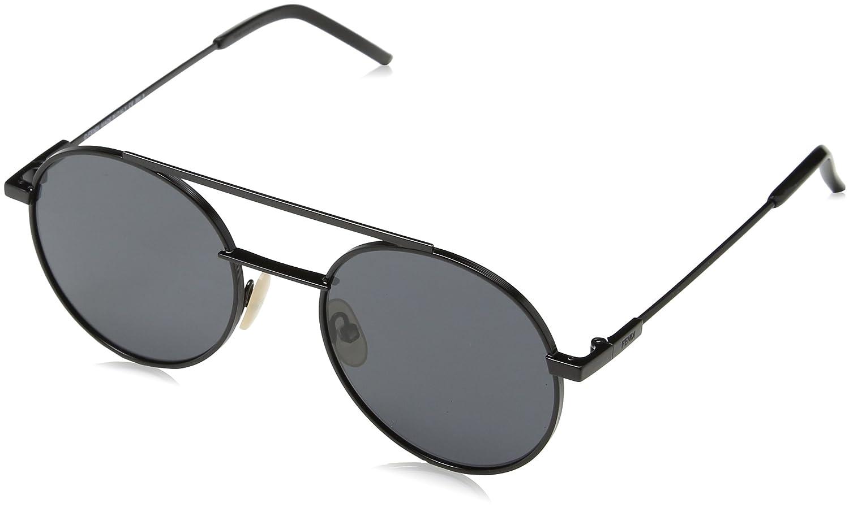 Amazon.com: anteojos de sol FENDI 221/S 0807 Negro/IR Gris ...