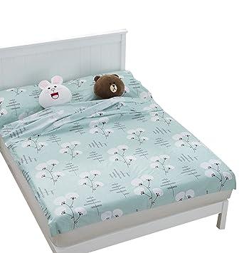 Ice Grey Flores Impreso cabaña Saco de dormir con cojín compartimento Saco de dormir Inlay Inlett