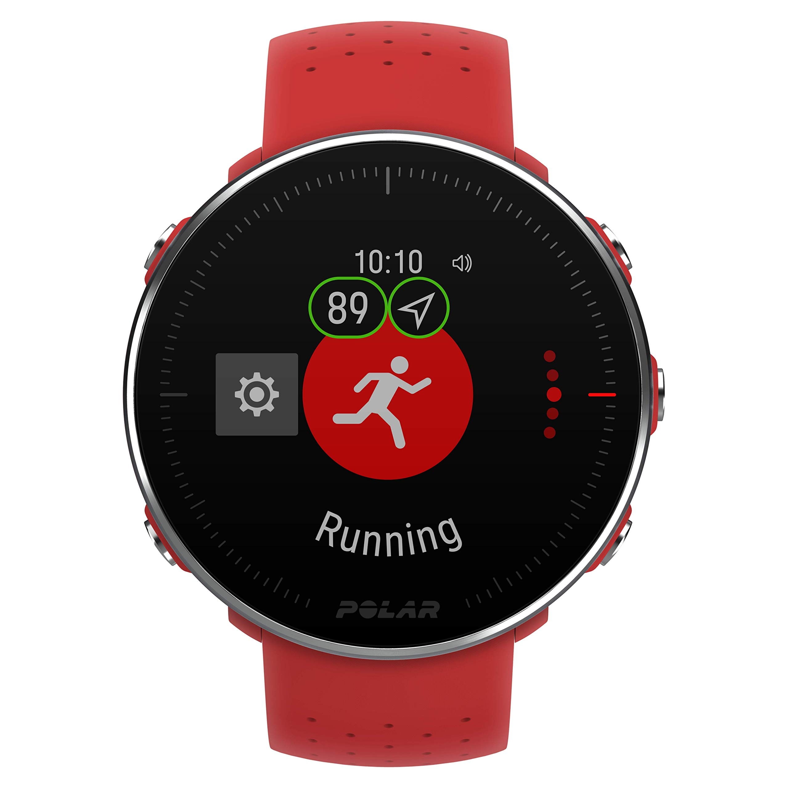 POLAR VANTAGE M –Advanced Running & Multisport Watch with GPS and Wrist-based Heart Rate (Lightweight Design & Latest Technology, Red, M-L by Polar (Image #8)