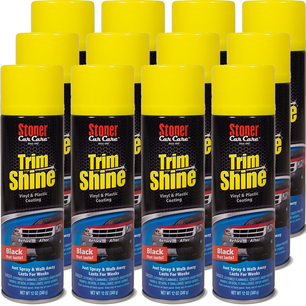Stoner Car Care 91034-12PK Trim Shine Protectant - 144-Fluid Ounces 12-Pack