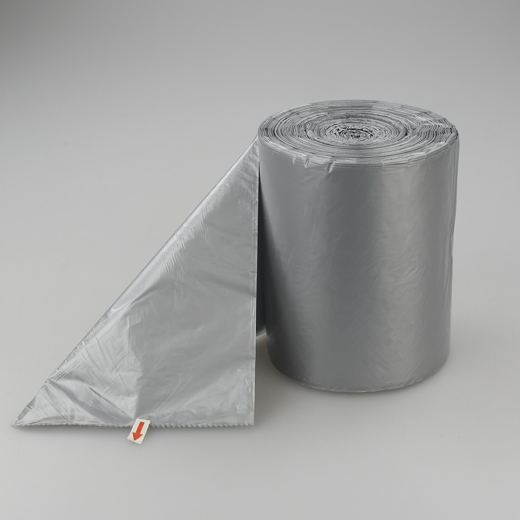 anbers 1 2 gallon small trash can liners grey 140 counts 602731324051 ebay. Black Bedroom Furniture Sets. Home Design Ideas