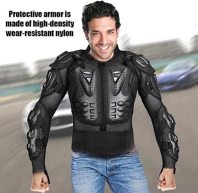 KKmoon Veste Armure Moto Blouson Motard Gilet Protection Body Armure Motocross Sport Veste de Protection XXL /…