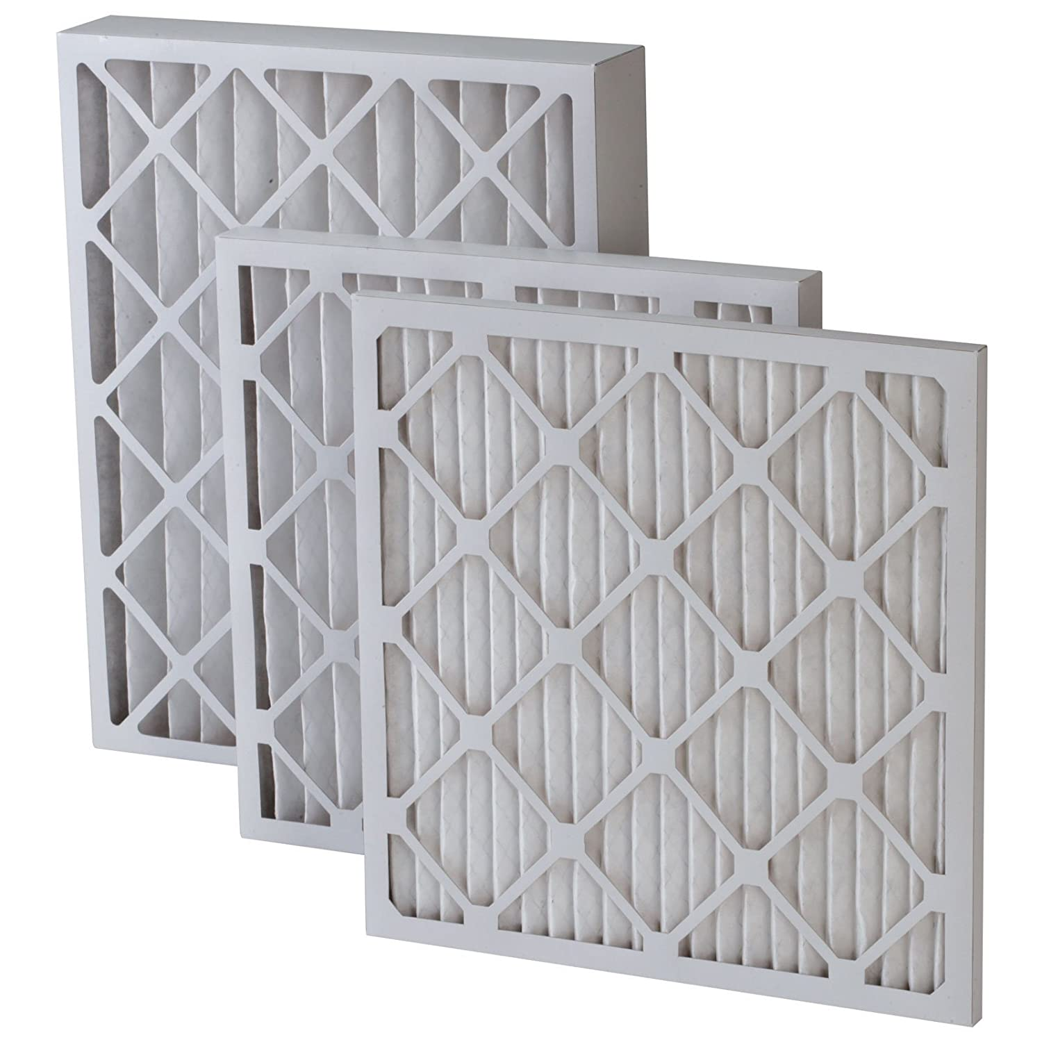 20x25x4 merv 8 furnace filter 6 pack replacement furnace filters amazoncom - Air Conditioner Filters