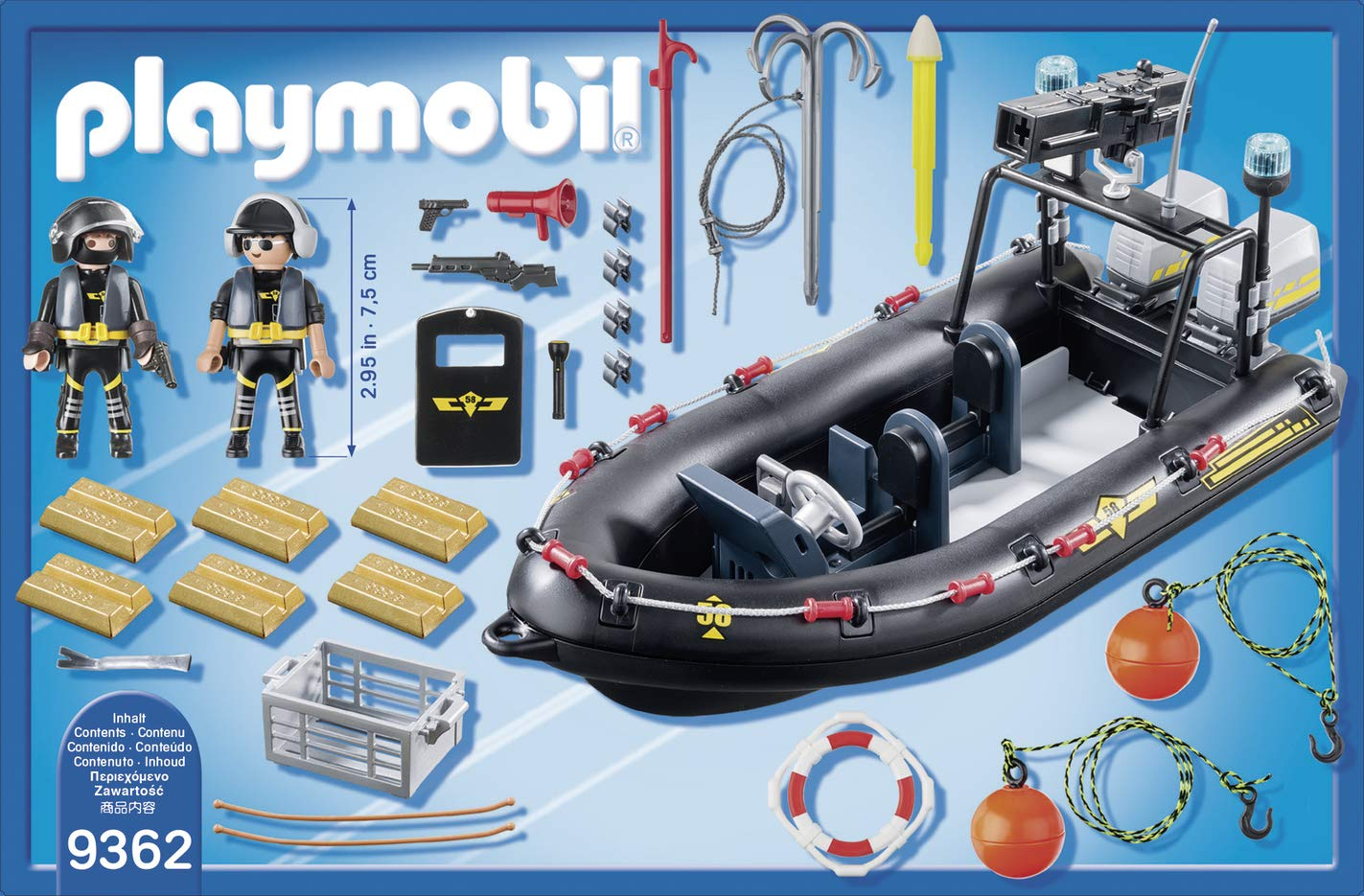 PLAYMOBIL® Tactical Unit Boat by PLAYMOBIL® (Image #2)