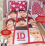One Direction Boyfriend Single Reversible Duvet Cover Bed Set New Gift (1DBF1)