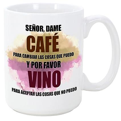 Mugffins Taza Graciosa Señor Dame Café Para Cambiar Y