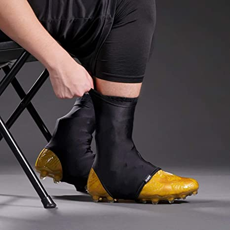 205a824abba Amazon.com   Basic Black Spats Cleat Covers   Sports   Outdoors