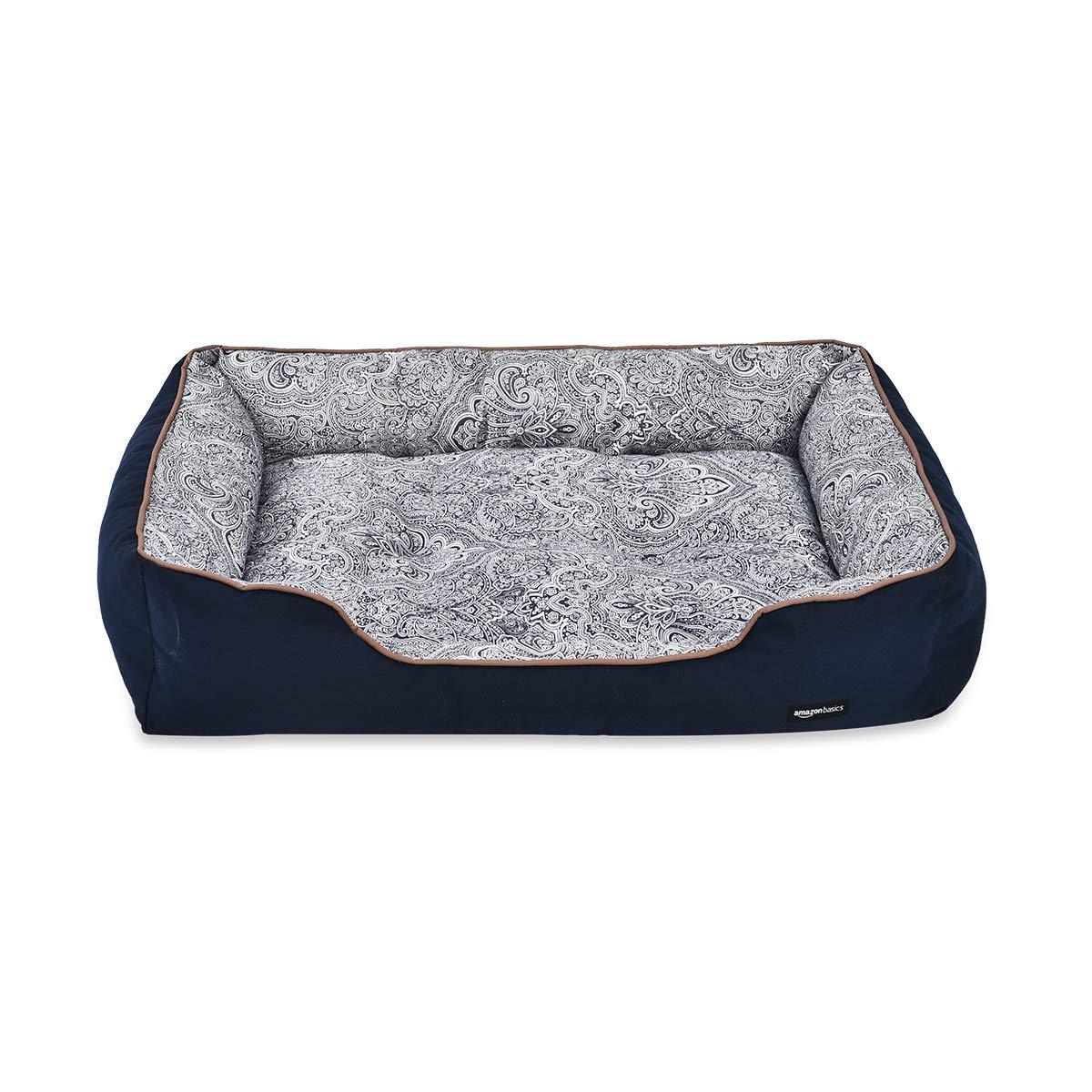 Medium Black Basics Cuddler Pet Bed
