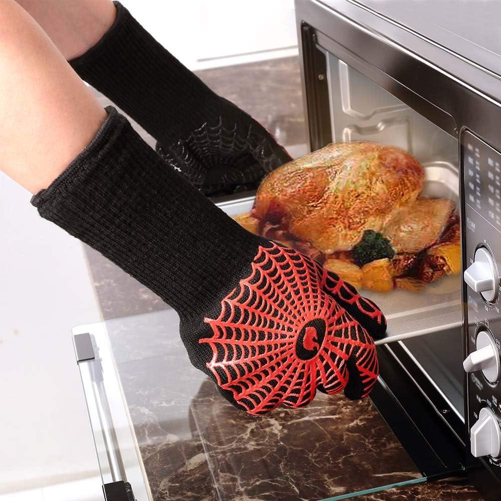Amazon.com: Guantes de horno YUXIER, guantes para parrilla ...