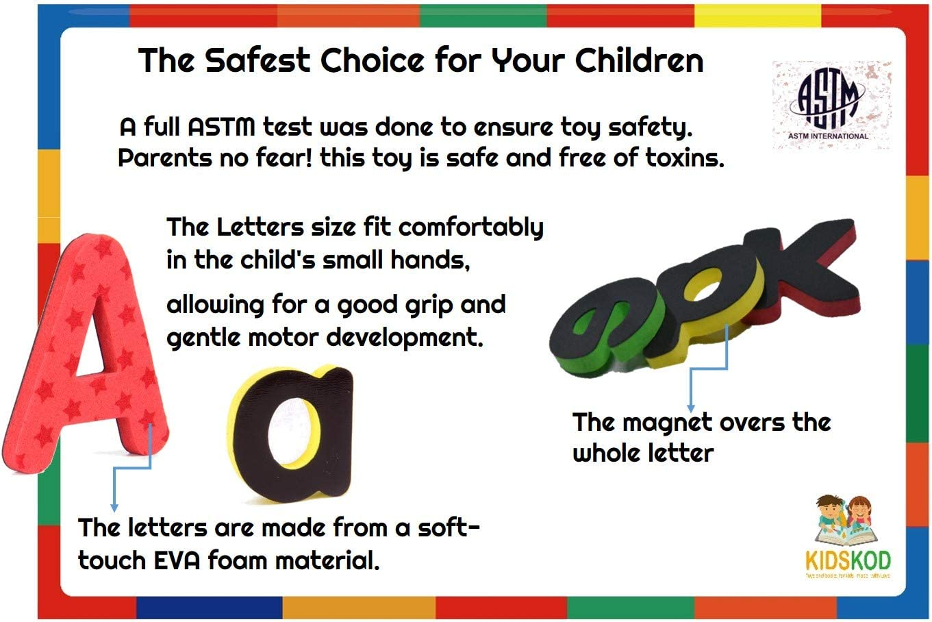 Toys & Games Magnetic Letters & Words ghdonat.com Tracing Board ...