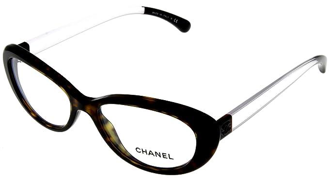 Amazon.com: Chanel Prescription Eyeglasses Frame Havana Women CH3275 ...