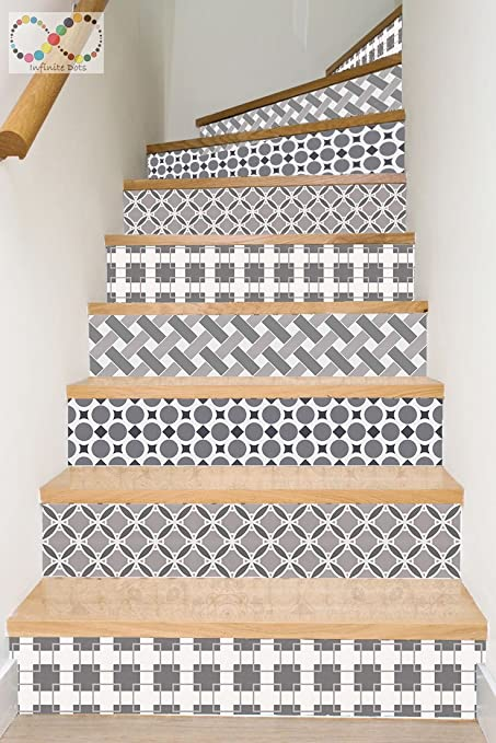 Wallpaper Strips For Stair Risers/ Stair Steps / Wall Baseboard   Peel And  Stick