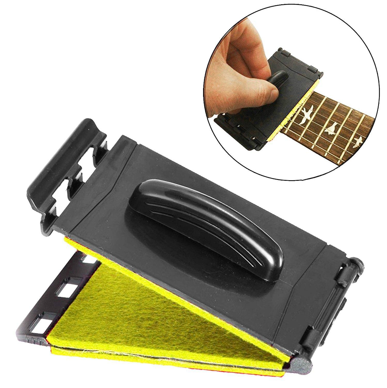 Doble cuerda de guitarra y diapasón limpiador cuidado de mantenimiento para guitarra/bajo/mandolina/ukelele: Amazon.es: Instrumentos musicales