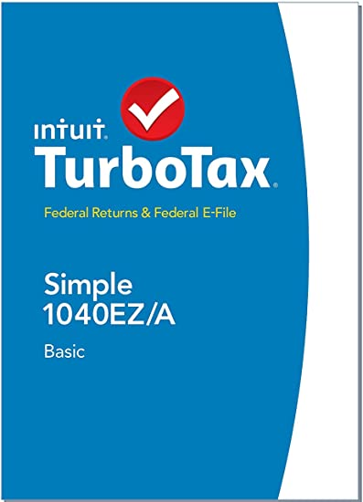 TurboTax Basic 2014 Simple 1040EZ/A, Federal Returns & Federal E-File (