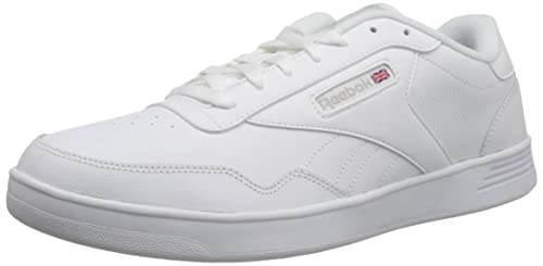 1fb391e6008 Reebok Men s Club MEMT Wide 4E Sneaker White  Amazon.co.uk  Shoes   Bags