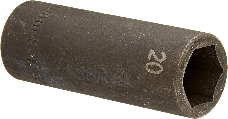 "SK HAND TOOL 1//2/"" Dr Deep Impact Socket 23mm 34273"