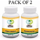 Way 4 Organic Fenugreek Capsules 500 Mg - 100 Capsules Natural / Pure