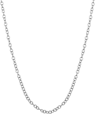 Sterling Silver Womens 1mm Box Chain Happy Cute Infant Baby Playing Toy Pendant Necklace