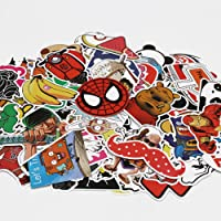 UTSAUTO Graffiti Stickers Decals Pack of 100 pcs Car Stickers Motorcycle Bicycle Skateboard Luggage Phone Pad Laptop Stickers And Bumper Patches Decals Waterproof (Type 4)