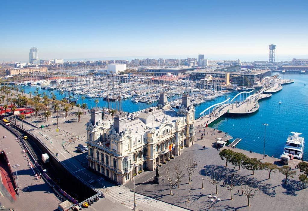 BVCK Terminal del Puerto De Barcelona Pièces Casse-Tête En Jouets Et Cadeaux Idéaux Pour Des Adultes Et Des Adolescents
