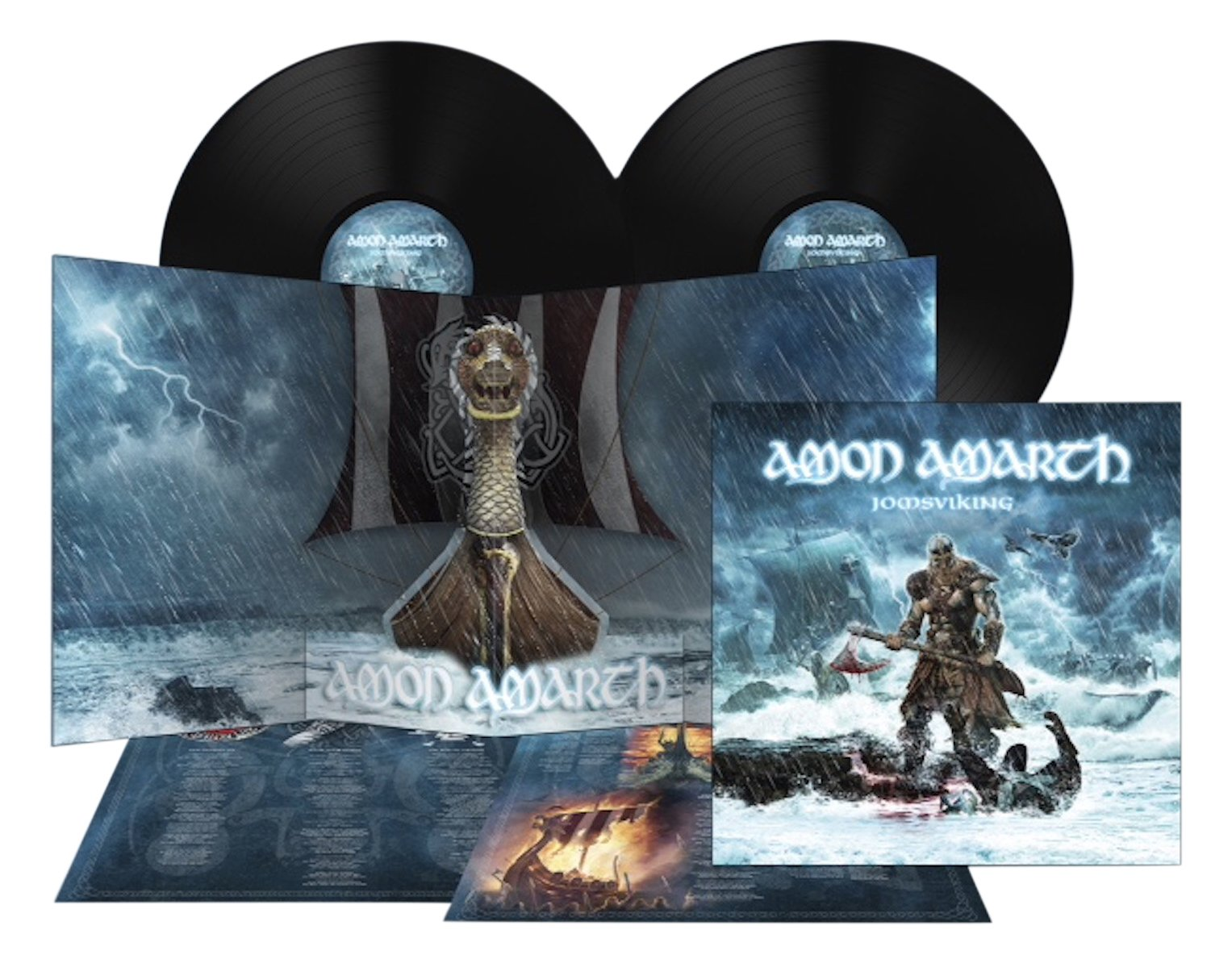 Vinilo : Amon Amarth - Jomsviking (Gatefold LP Jacket, 2 Disc)