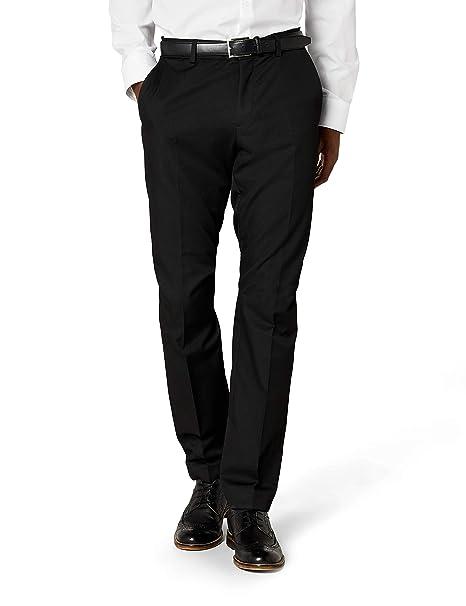 Esprit - Pantalón de traje slim fit para hombre f519495a6ff