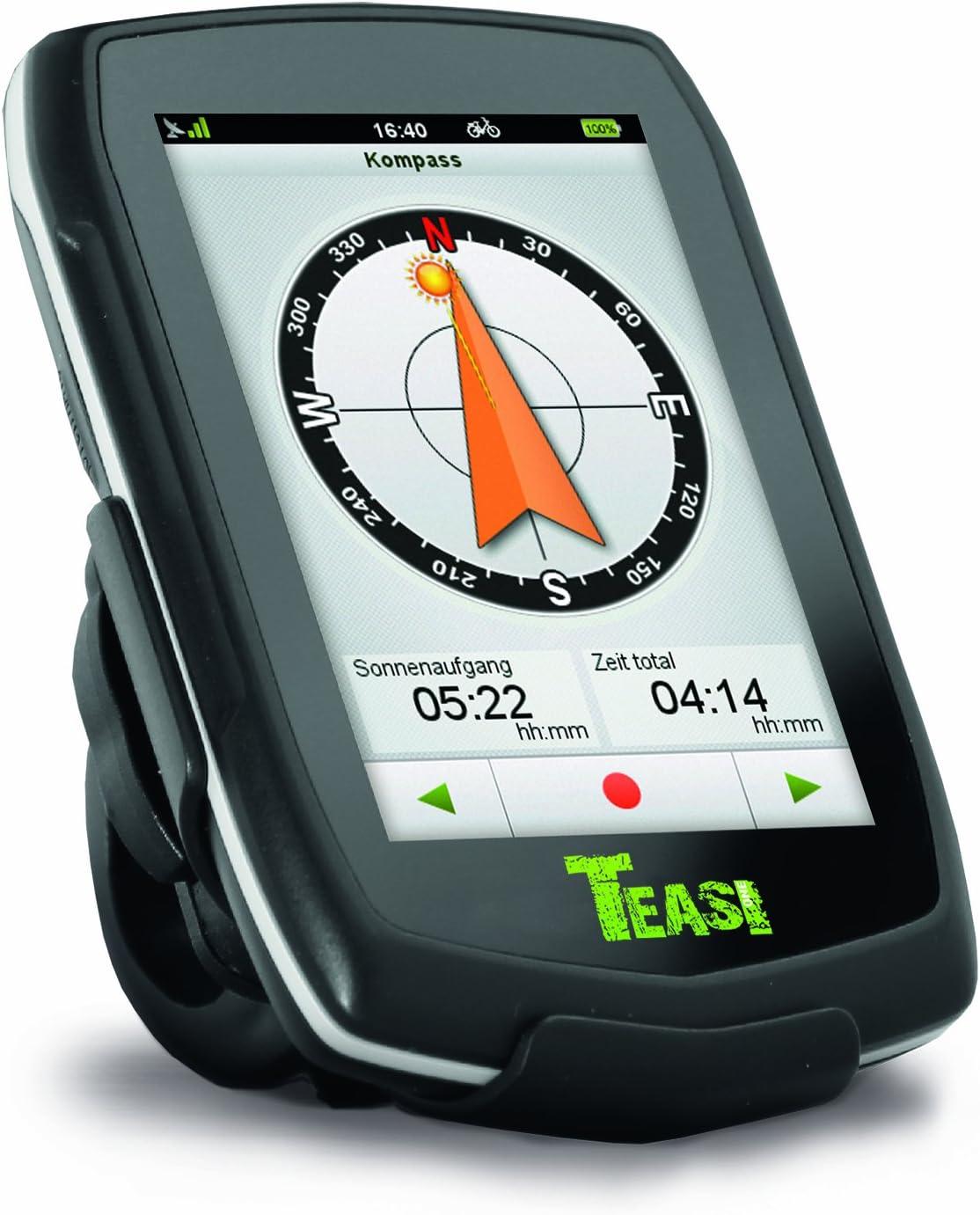 Teasi one - Navegador GPS para Bicicleta y Senderismo Negro Negro ...