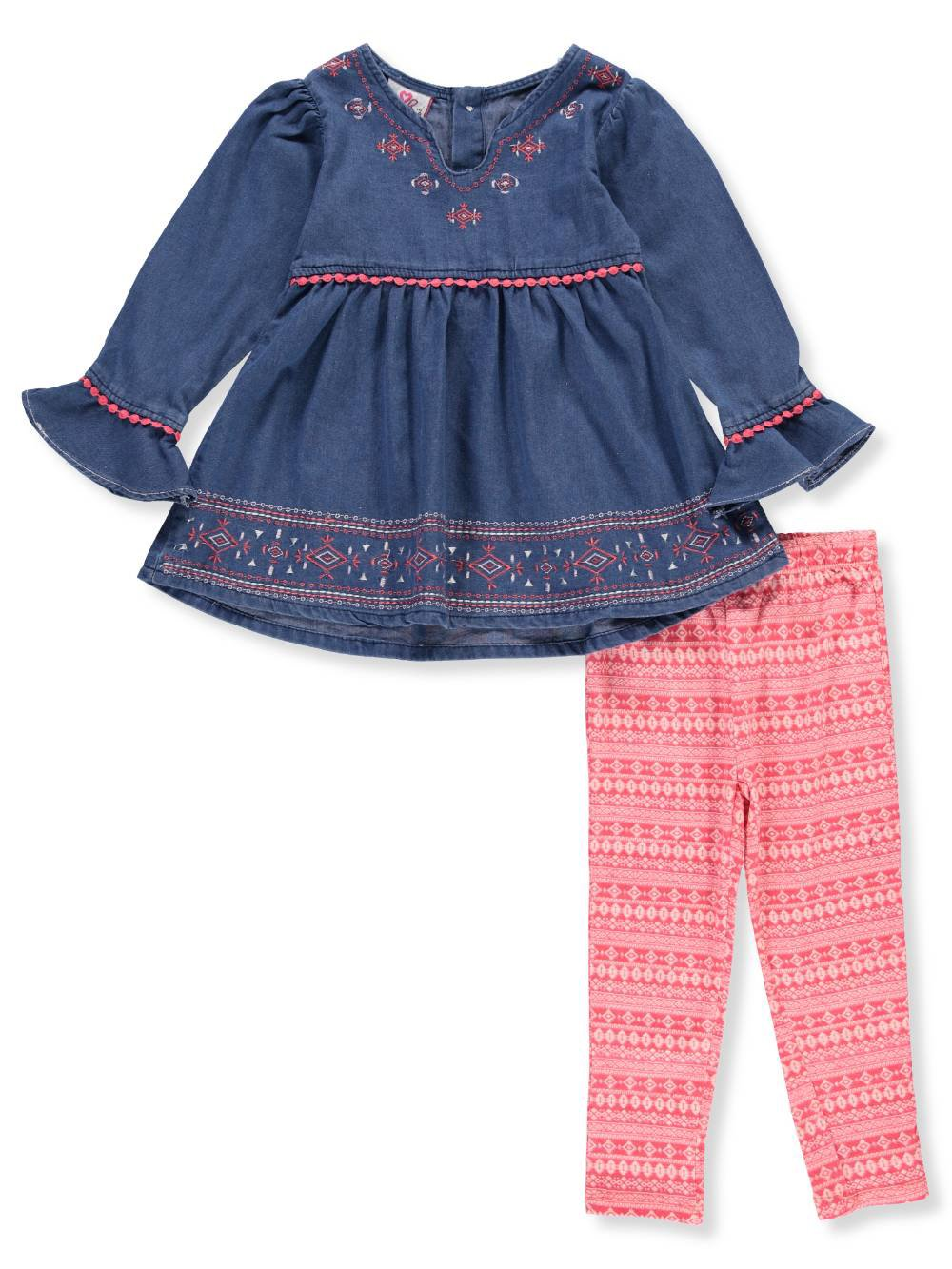 Real Love Girls' 2-Piece Leggings Set Outfit